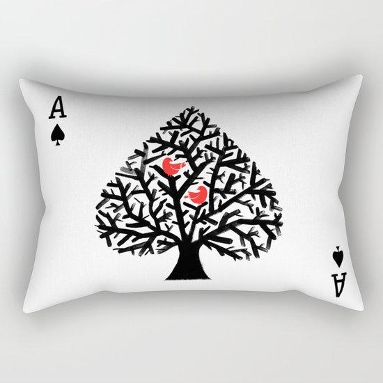 Ace of spade Rectangular Pillow