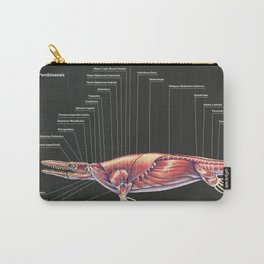 Tylosaurus Pembinensis Muscle Study Carry-All Pouch