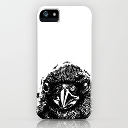 Interaction with crow iPhone Case