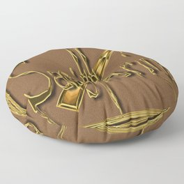 Sagitarius, zodiac sign Floor Pillow