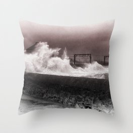 Having a Swell Day Throw Pillow