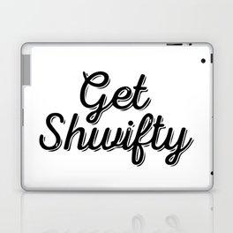 Baesic Get Shwifty (Script) Laptop & iPad Skin