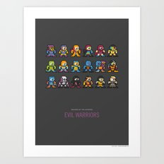 Mega MotU: Evil Warriors Art Print