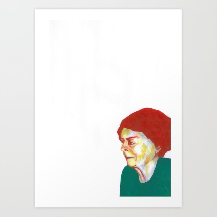 Au travail 8 Art Print