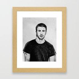 Chris Framed Art Print