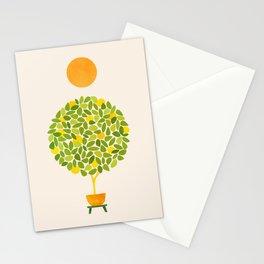 Sunshine + Lemon Tree Illustration Stationery Cards