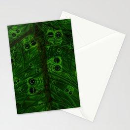 Mosaic of owls V2 Stationery Cards
