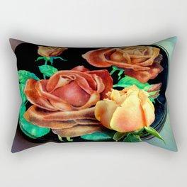 A Tin Type Rectangular Pillow
