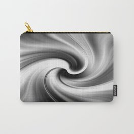 Mono Abstract Carry-All Pouch