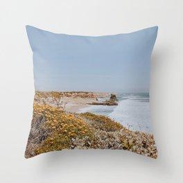 california coast vi / santa cruz Throw Pillow