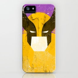 Logan grunge iPhone Case