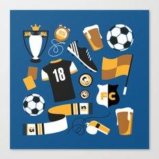 Football Fan Canvas Print