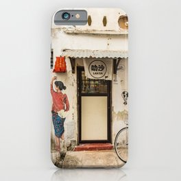 George Town, Penang Street - Laksa Time iPhone Case