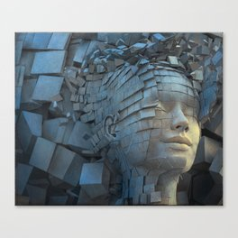 Dissolution of Ego Canvas Print