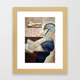 Key of Knowledge Framed Art Print