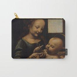 "Leonardo da Vinci ""Madonna and the Child (The Benois Madonna)"" Carry-All Pouch"