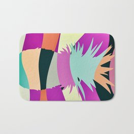 Sliced Abstract Ananas Bath Mat