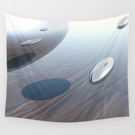 Escaping Area 51 Wall Tapestry