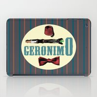 """fez iPad Cases featuring Doctor Who: 11th Doctor - """"Geronimo"""" by Neobie Gonzalez"""