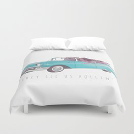The See Us Rollin' Duvet Cover