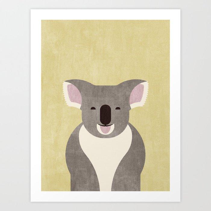 FAUNA / Koala Bear Art Print