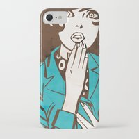 60s iPhone & iPod Cases featuring 60s Girl by Ed Pires