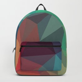 Geometric Low Polly Design Backpack
