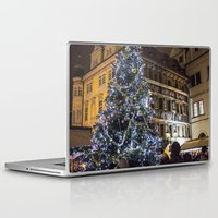 new year Laptop & iPad Skins featuring New year 4 by Veronika