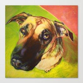 This Dog Didn't Mean It. Canvas Print