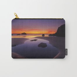 Arcadia Beach Reflections Carry-All Pouch