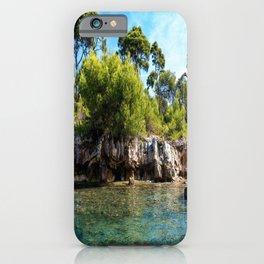 Ile Saint Marguerite Paradise iPhone Case