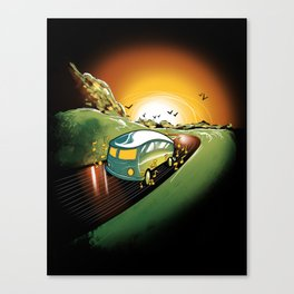 Killer Road Trip  Canvas Print