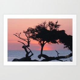 Beautiful California Sunset by Aloha Kea Photography Art Print