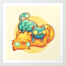 Hug ! Art Print