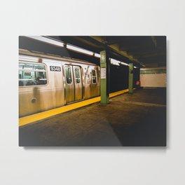 Subway Metal Print