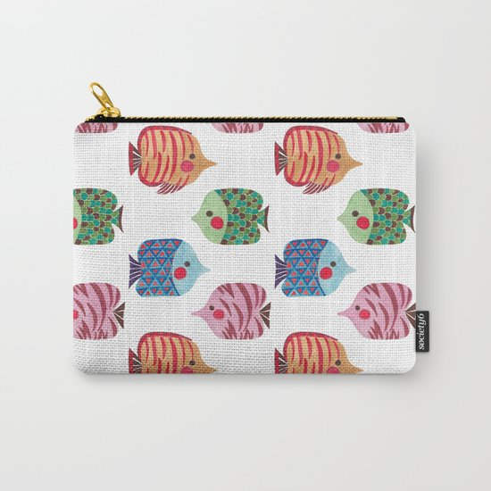 Butterflyfish Carry-All Pouch