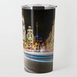 Gran Via (Madrid) Travel Mug