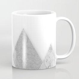 Grey marble mountain Coffee Mug