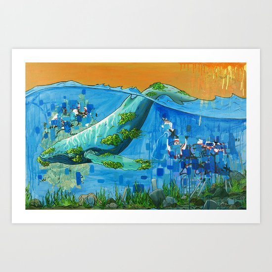 Open Sea Art Print