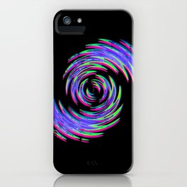 goutte d'eau iPhone Case