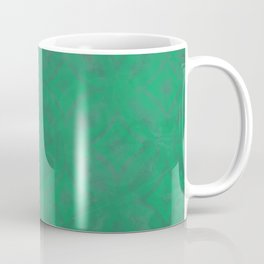 Geometric Greens Coffee Mug
