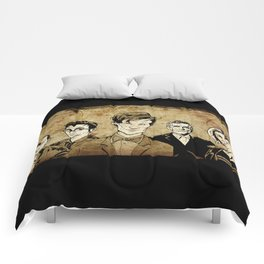 Doctor Who - Nine, Ten, Eleven, Twelve, and Thirteen Comforters