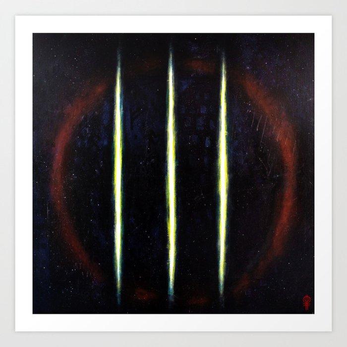 Nornir - Ancestral Spirits Of The Black Sky Art Print
