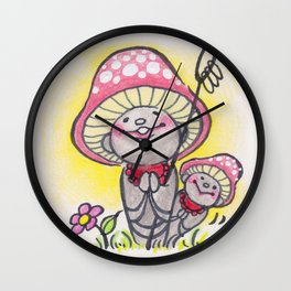 KINOKOJIZO Wall Clock