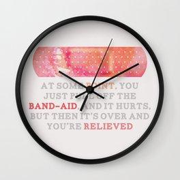 Looking For Alaska: Bandaid Wall Clock