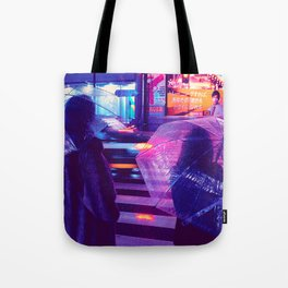 Tokyo Nights / The Crossing / Liam Wong Tote Bag