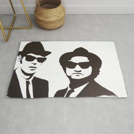 The  Blues Brothers Rug