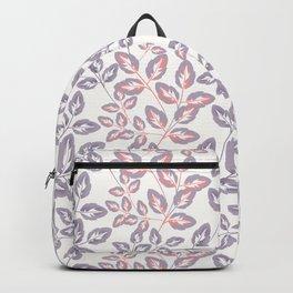 Delicate sprigs. Backpack