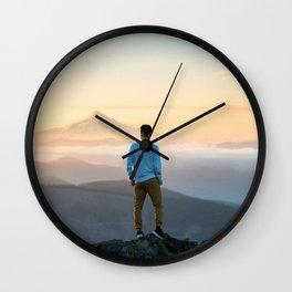 The traveler 1 Wall Clock