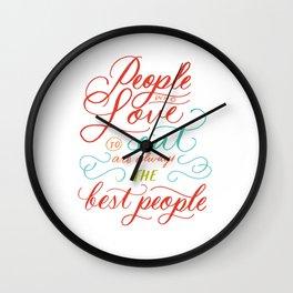 Julia Child Wall Clock